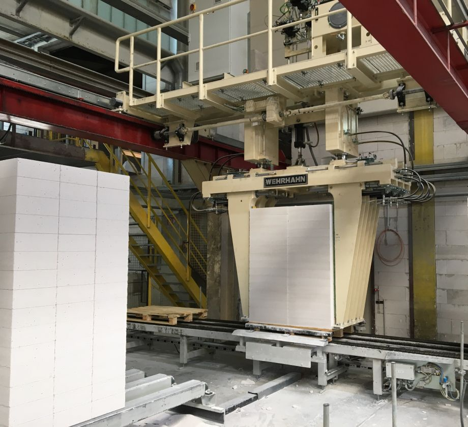 Wehrhahn | Production for Plants for AAC, Fibre Cement and